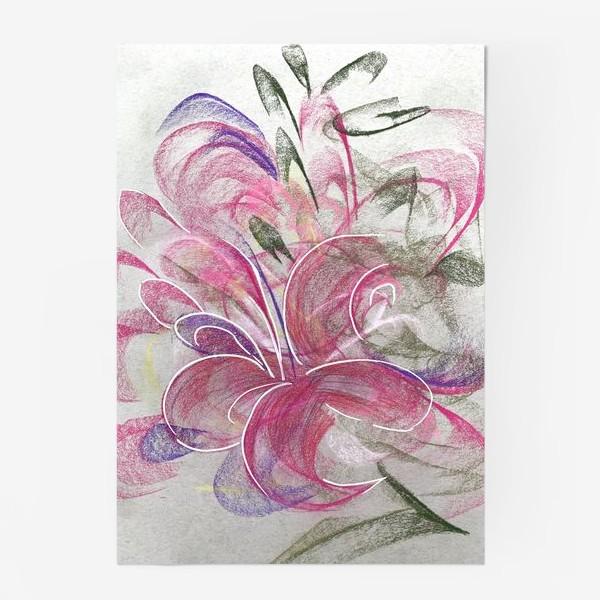 Постер «Цветок с Бали»