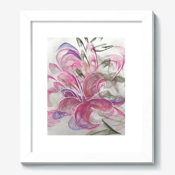 Картина «Цветок с Бали»