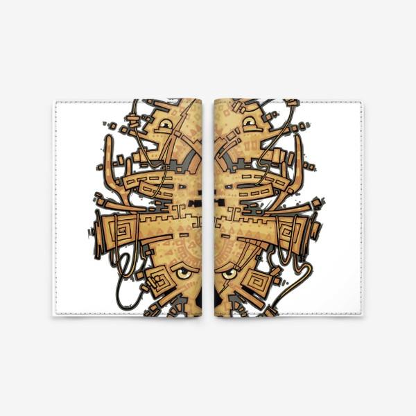 Обложка для паспорта «Хипстер»