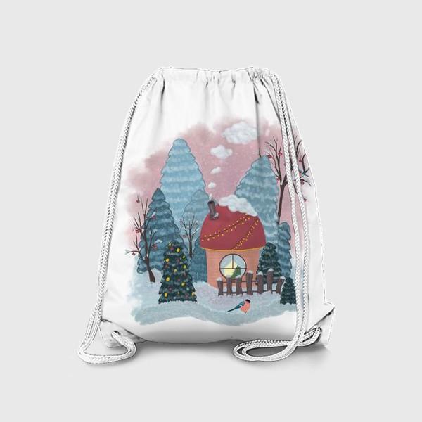 Рюкзак «Уютный лесной домик»