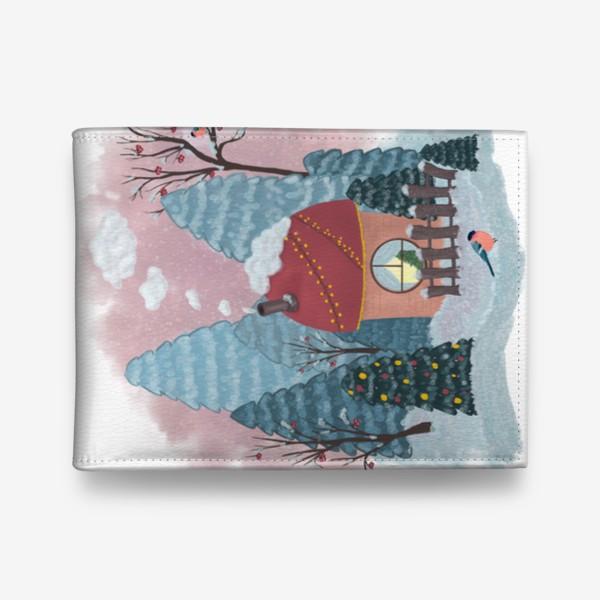 Кошелек «Уютный лесной домик»
