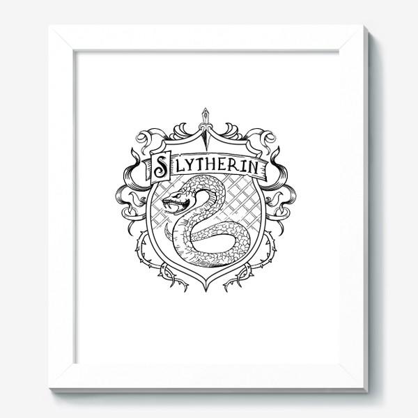 Картина «Герб факультета С. Змея.  S Crest»