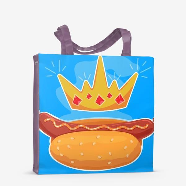 Сумка-шоппер «Царский хот-дог»