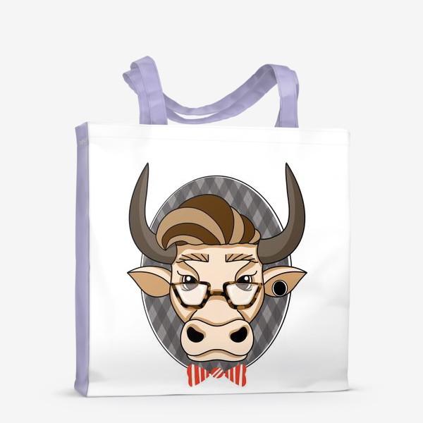 Сумка-шоппер «Год быка. Без текста.»