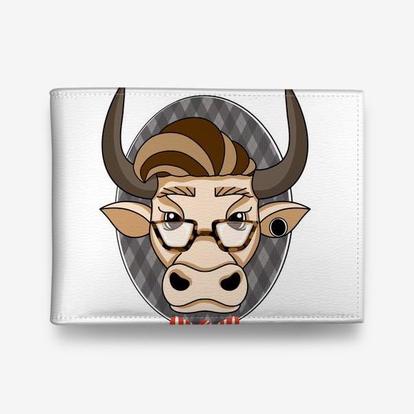 Кошелек «Год быка. Без текста.»