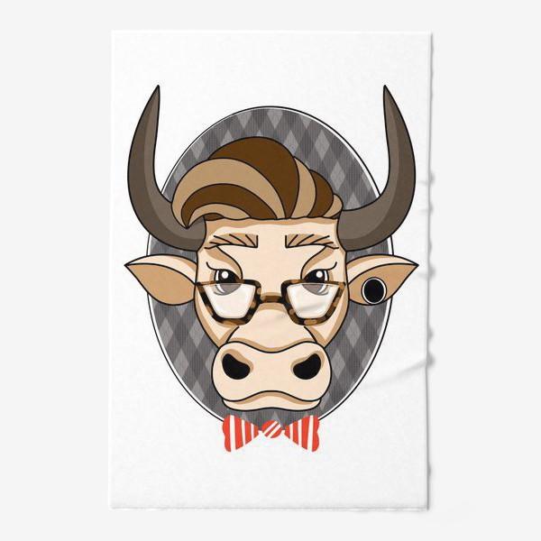 Полотенце «Год быка. Без текста.»