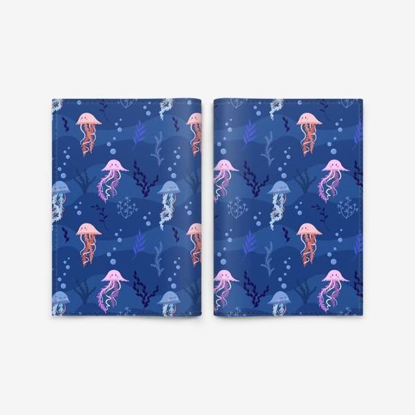 Обложка для паспорта «Медузы»