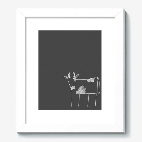 Картина «Бык, корова»