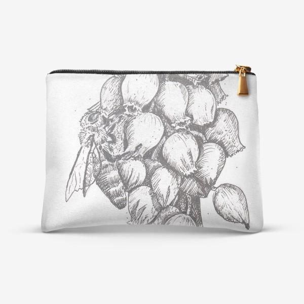 Косметичка «Мускари и пчела»