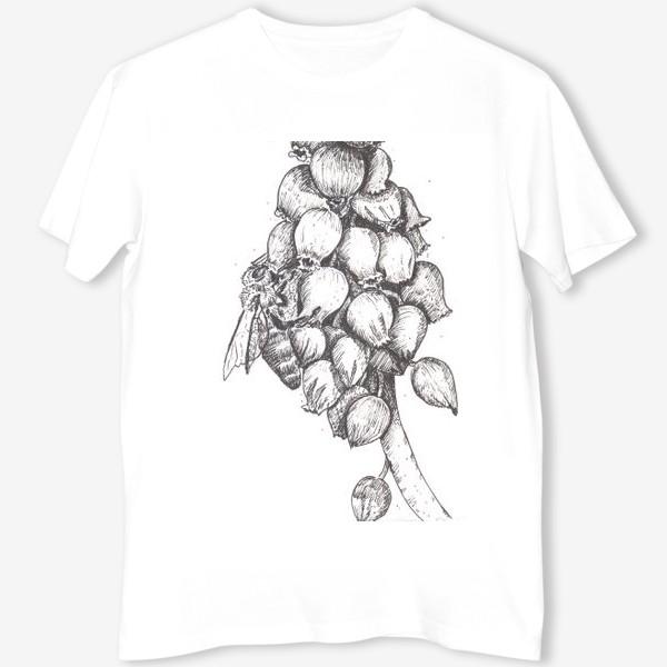 Футболка «Мускари и пчела»
