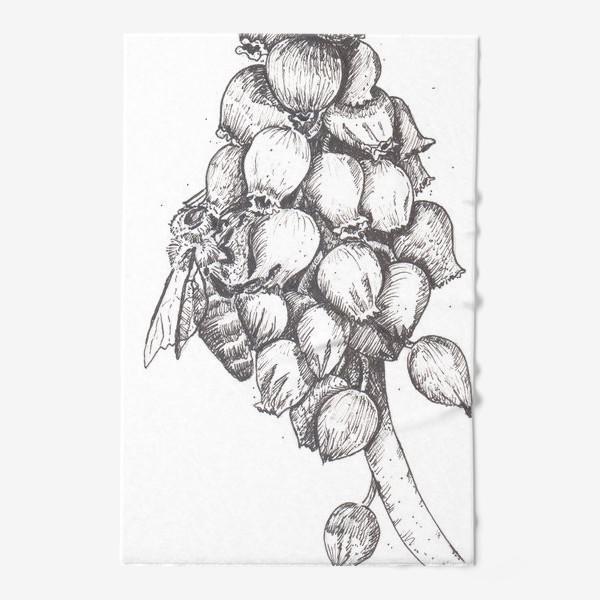 Полотенце «Мускари и пчела»