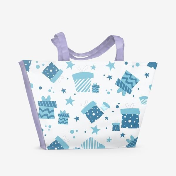 Пляжная сумка «Подарки»
