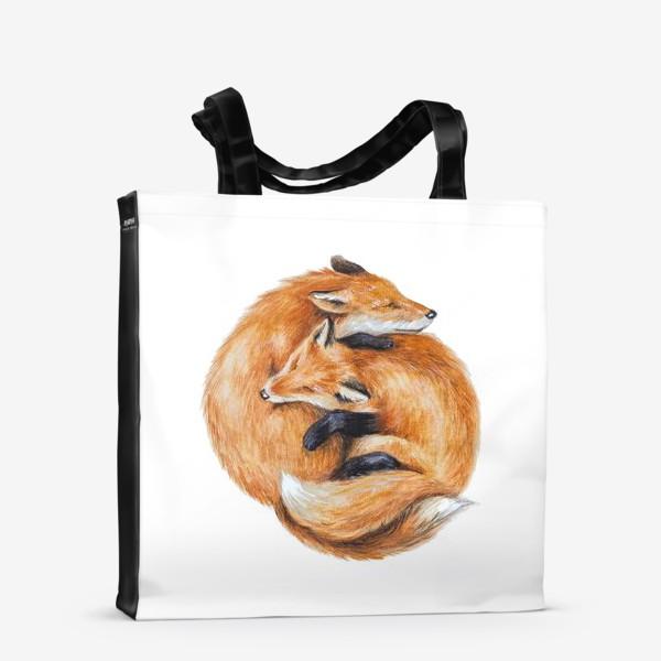 Сумка-шоппер «Лисы»