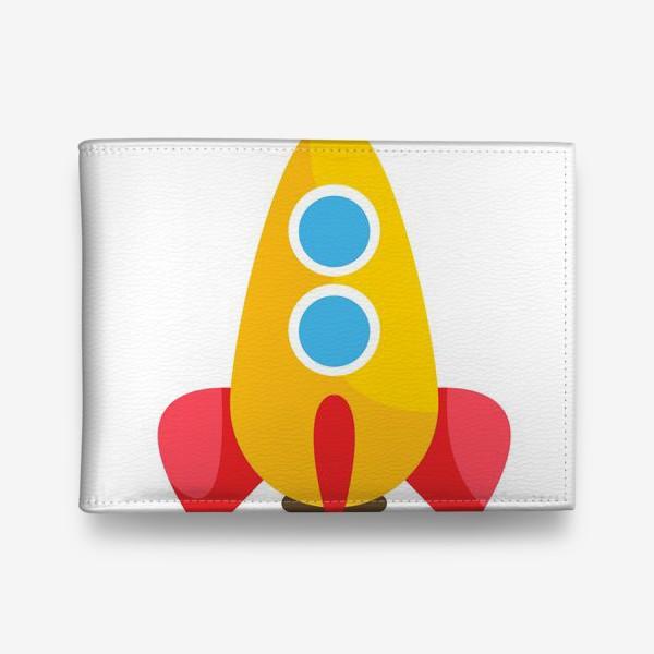 Кошелек «Ракета мультяшная»