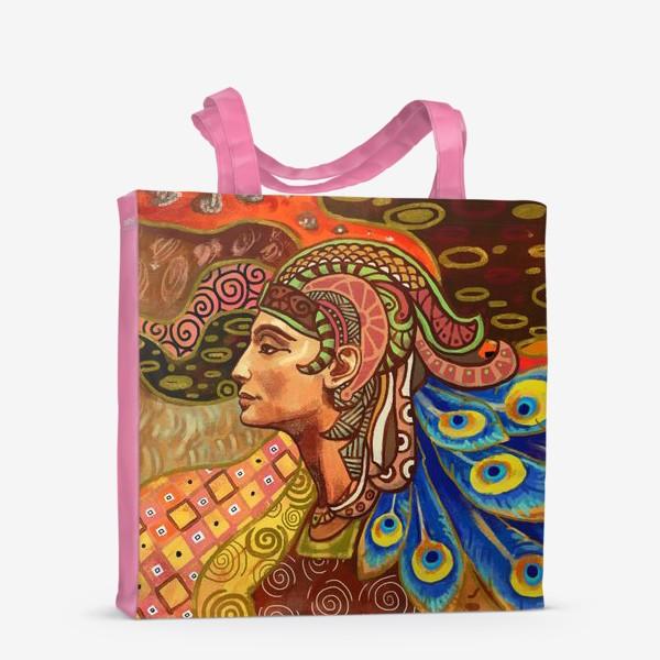 Сумка-шоппер «Дева знак гороскопа»