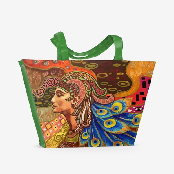 Пляжная сумка «Дева знак гороскопа»