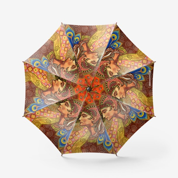 Зонт «Дева знак гороскопа»