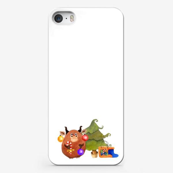 Чехол iPhone «бык»