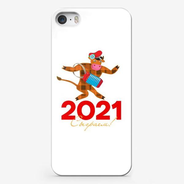 Чехол iPhone «Сыграем! Год Быка 2021»