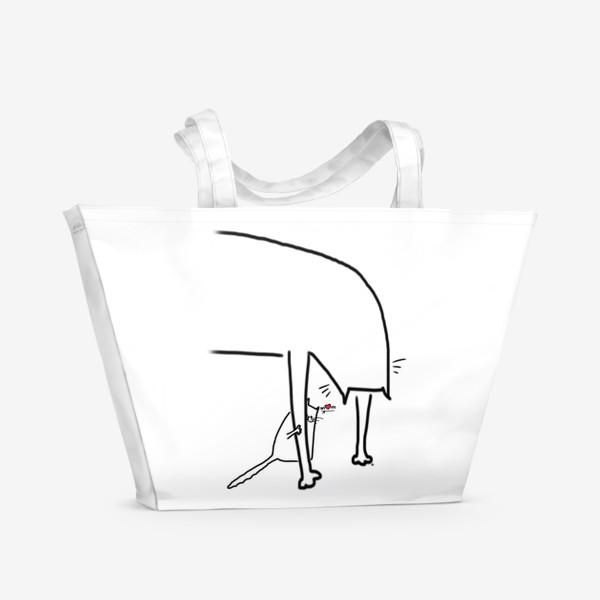 Пляжная сумка «Подарок для мамы. День матери»