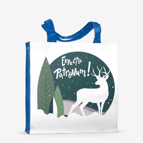 Сумка-шоппер «Олень в лесу (Патронус)»
