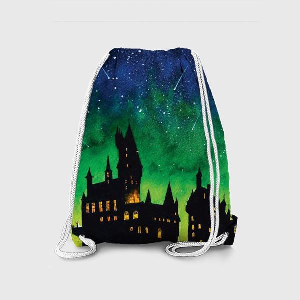 Рюкзак «Ночной Хогвартс»