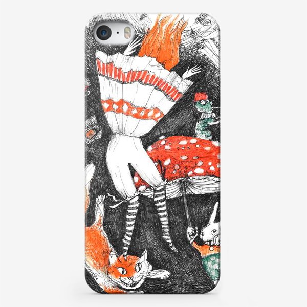 Чехол iPhone «Путешествие Алисы»