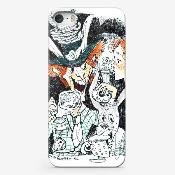 Чехол iPhone «Безумное чаепитие»