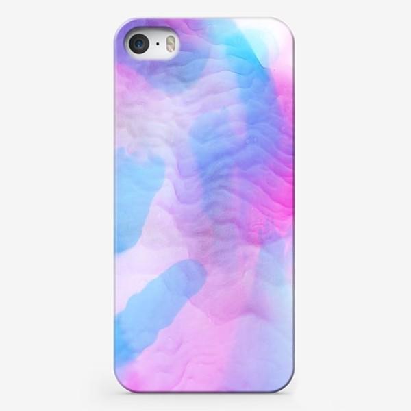 Чехол iPhone «Яркие красивые разводы красками»