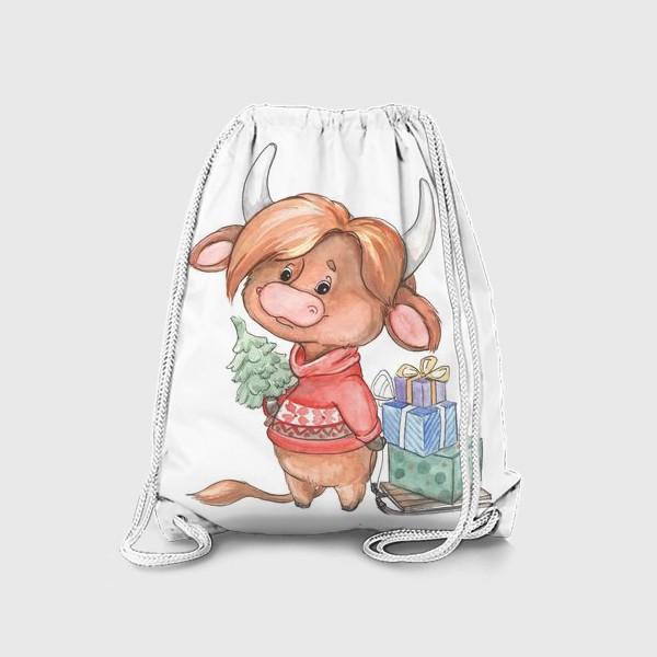 Рюкзак «рыжий бычок»