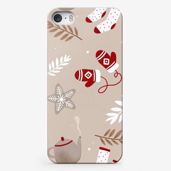 Чехол iPhone «Уютная зима»