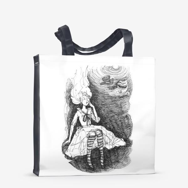 Сумка-шоппер «Алиса приземлилась»