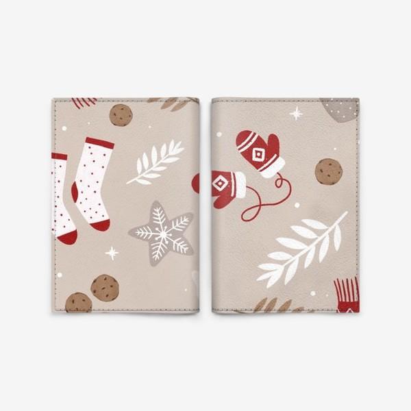 Обложка для паспорта «Уютная зима»