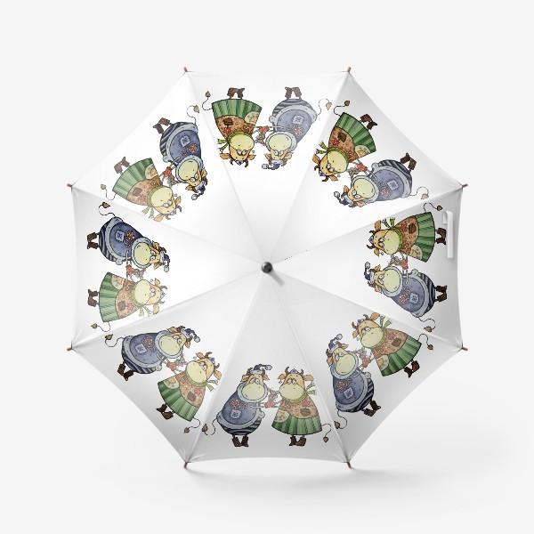 Зонт «С новым годом!»