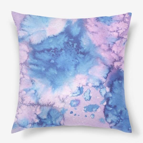 Подушка «акварельное безумие»