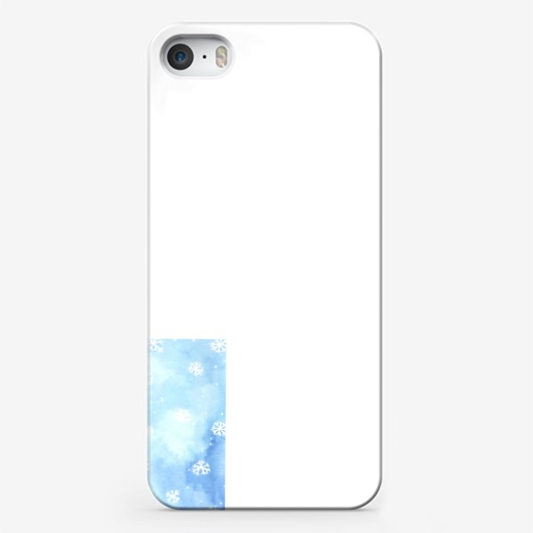 Чехол iPhone «снежный паттерн»