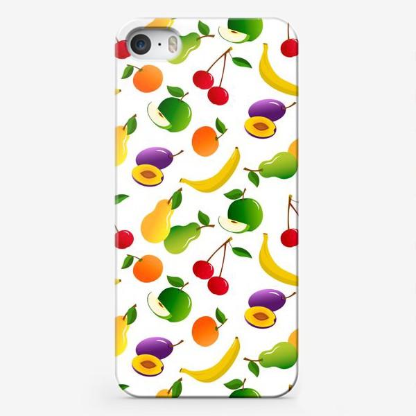 Чехол iPhone «Фруктовый фрэш»