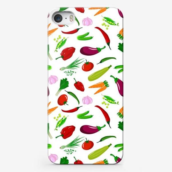 Чехол iPhone «Овощная феерея»