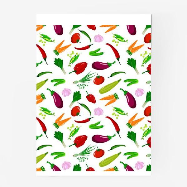 Постер «Овощная феерея»