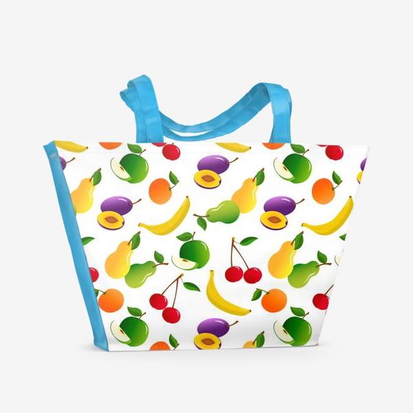 Пляжная сумка «Фруктовый фрэш»