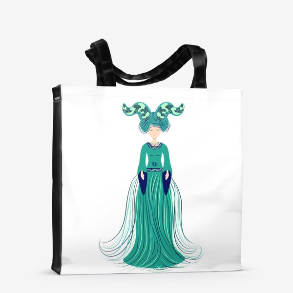Сумка-шоппер «Знак зодиака Козерог »
