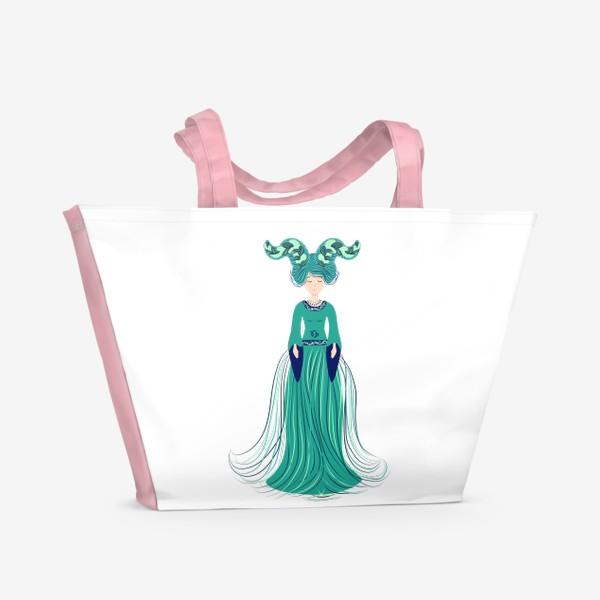 Пляжная сумка «Знак зодиака Козерог »