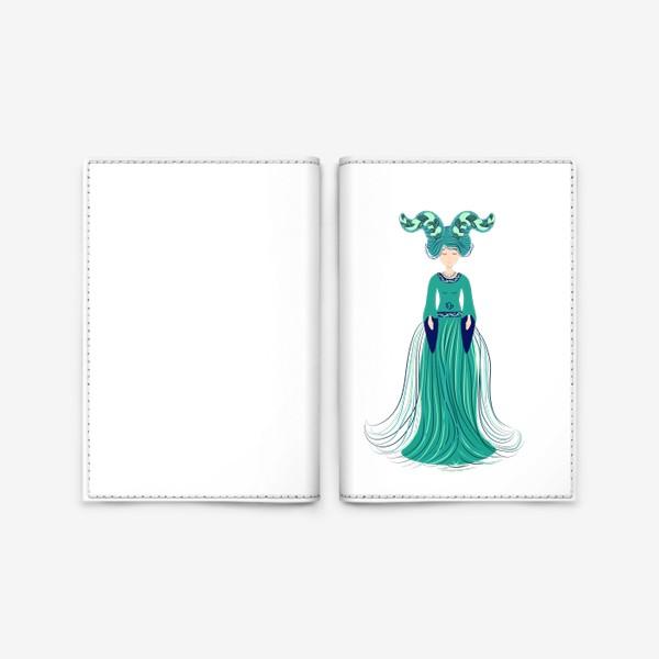 Обложка для паспорта «Знак зодиака Козерог »