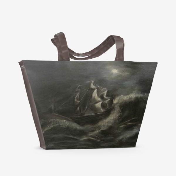 Пляжная сумка «Морская буря»