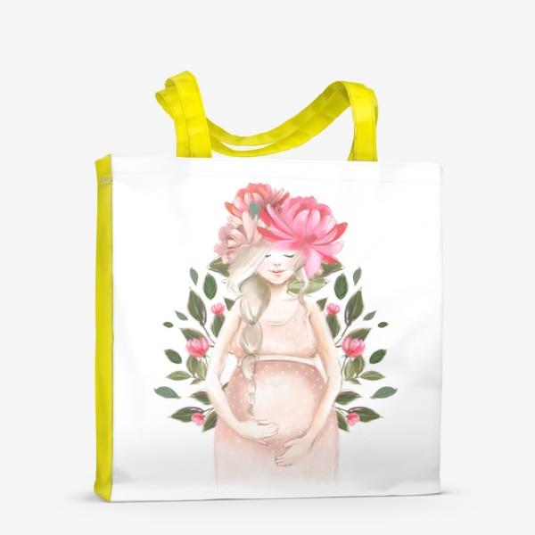 Сумка-шоппер «Беременность, ребенок»