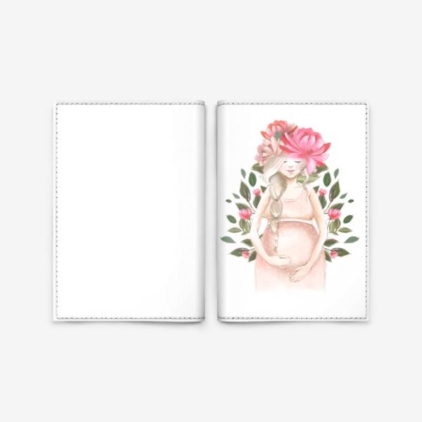 Обложка для паспорта «Беременность, ребенок»