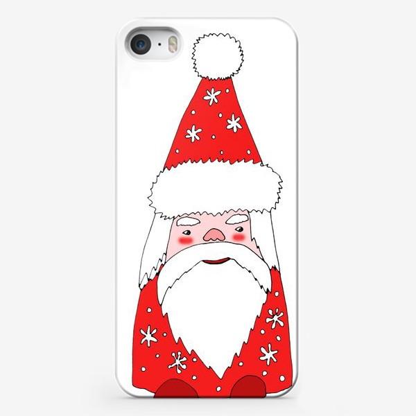 Чехол iPhone «Зимний гном»