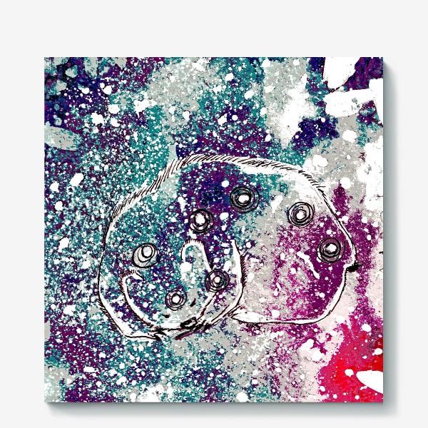 Холст «Звездный Мишка»