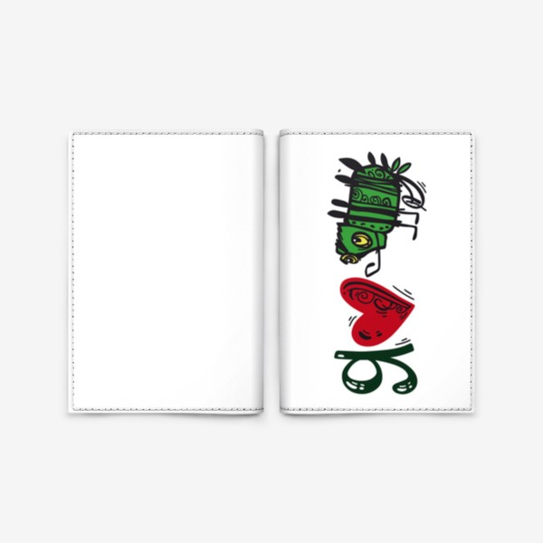 Обложка для паспорта «ХАМЕЛЕОН»