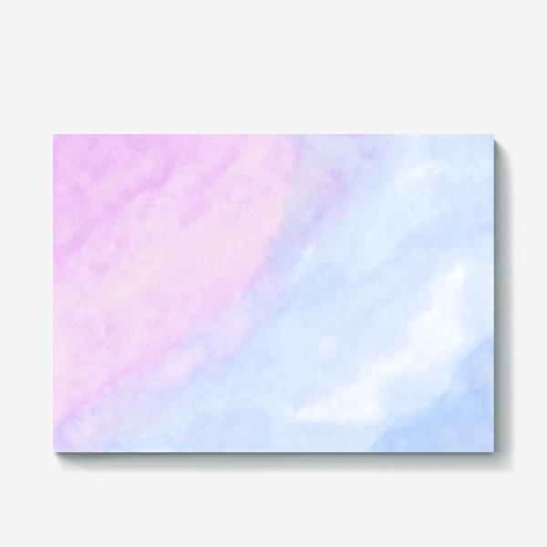 Холст «Акварельные облака»